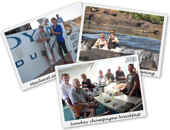 Holiday snap shots from our Kimberley cruise